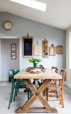 Awesome Useful Ideas: Painted Dining Furniture Tips dining furniture dream homes.Contemporary Dining Furniture Home outdoor dining furniture barn wood.Outdoor Dining Furniture How To Build. Kitchen Decor, Dining Table, Dining Room Decor, Dining Area, Farmhouse Dining Table, Rustic Dining Table, Dining Furniture, Home Decor, Dining Room Table