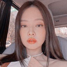 By me uwu Baby Pink Aesthetic, Kpop Aesthetic, Aesthetic Girl, Kim Jennie, Blackpink Members, Ulzzang Korean Girl, Blackpink Photos, Blackpink Jisoo, Our Girl