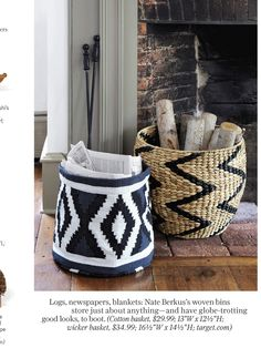 Baskets from target