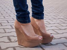 Love these wedges, if only they wouldn't turn me into a giant :(