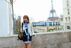 Teddy Quinlivan Street Style - Couture Week SS16 Paris