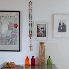 Jerusalem Fever Boutique — Wall Hanging Olive Wood Rosary