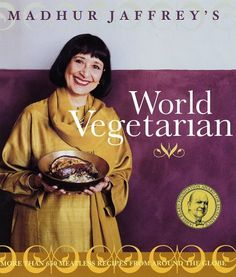Madhur Jaffrey draws on more than four decades of culinary adventures, travels, and experimentation for a diverse collection that both intrigues and delights the palate. Dishes from five continents touch on virtually all the world's best loved flavors, for a unsurpassed selection of vegetarian fare.