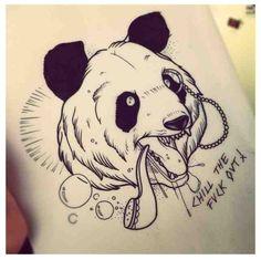 tattoo panda tumblr - Buscar con Google