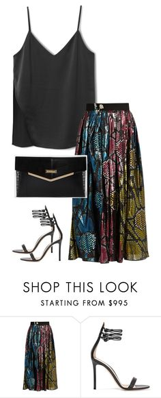 """""""Untitled #2931"""" by officialnat on Polyvore featuring Marc Jacobs, Gianvito Rossi and River Island"""