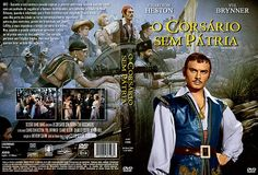 THE BUCCANEER (1958) - Yul Brynner - Directed by Anthony Quinn - Paramount - DVD cover art.