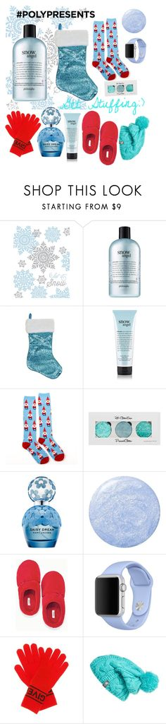 """""""#PolyPresents: Holiday Jingle"""" by royalsavage ❤ liked on Polyvore featuring Design Design, philosophy, Marc Jacobs, Soma, Apple, Givenchy, The North Face, contestentry and polyPresents"""