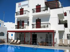 Iliovasilema || Just 50 metres from Naxos's popular Saint George Beach, Iliovasilema Hotel offers a host of leisure facilities and well-appointed rooms, less than 10 minutes' walk from the port.