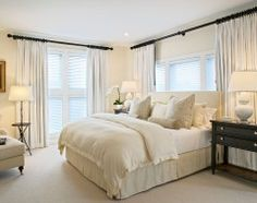 Serene and gorgeous room (traditional bedroom by Kitchens & Baths, Linda Burkhardt)