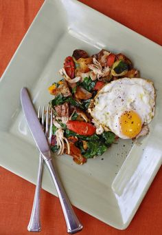 Thanksgiving Leftover Hash: What to do with the last scraps of turkey and roasted vegetables, in this week's #GreenPlateSpecial.