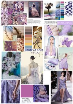 FASHION TREND S/S 2015 PURPLE THEME
