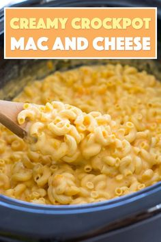 Crockpot Macaroni and Cheese - creamy, delicious! Crockpot Macaroni and Cheese - creamy, delicious! This creamy crockpot macaroni and cheese is delicious! Just throw the milk, cheese, and seasonings in the slow cooker for a meal everyone will love! Slow Cooker Desserts, Slow Cooker Recipes, Crockpot Recipes, Cooking Recipes, Slow Cooker Appetizers, Milk Recipes, Creamy Macaroni And Cheese, Macaroni Cheese Recipes, Mac And Cheese Homemade