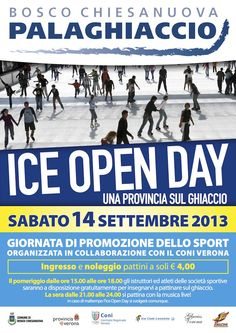 Bosco Chiesanuova: arriva Ice Open Day 2013 #NewsGC