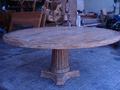 der klassische runde tisch mit individuell gestaltbarem bein