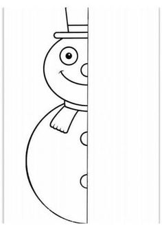 Tipss und Vorlagen: Coloring Pages Preschool worksheets Winter 2019 Winter Art, Winter Theme, Winter Activities, Christmas Activities, Drawing For Kids, Art For Kids, Christmas Worksheets, Winter Crafts For Kids, Elementary Art