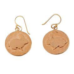 Rabbit Layer Charm Earrings – Wendy Mink Jewelry