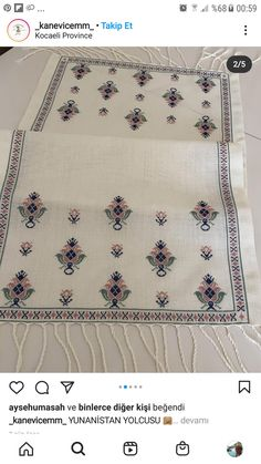 Crewel Embroidery, Bargello, Bohemian Rug, Cross Stitch, Rugs, Decor, Hardanger, Punto De Cruz, Needlepoint