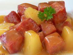 Dans la cuisine de Blanc-manger: Jambon à l'ananas (version express)