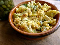 Oven Roasted Cauliflower with Gruyere Cheese Sauce Recipe  3 points + on Weight Watchers recipe