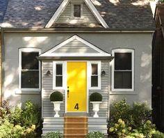 Oh yellow front doors..