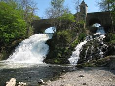 Watervallen van coo belgie