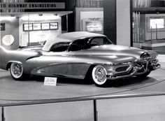 Harley Earl's legendary 1951 LeSabre dream car at the 1953 Chicago Auto Show