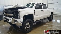 eBay: 2015 Chevrolet Silverado 2500 LT Crew Cab Pickup 4-Door Chevrolet Silverado 2500 HD LT 4-Door 6.6L, Salvage… #carparts #carrepair