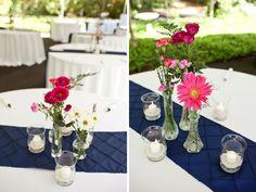 Pink and Aqua Shabby Chic Wedding
