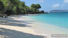 Honeymoon Beach   St. John USVI