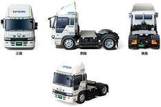 2005 Hino Profia Truck Free Vehicle Paper Model Download