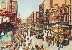 Pete Lapish - Briggate - Leeds - West Yorkshire - England - 1940