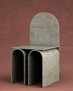Chair by Francesco Balzano Art Furniture, Classic Furniture, Unique Furniture, Cheap Furniture, Industrial Furniture, Furniture Design, Furniture Chairs, Brutalist Furniture, Funny Furniture