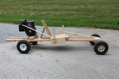 Picture of Homemake Wooden GoKart 2.0
