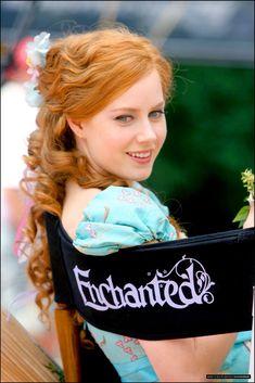 Amy Adams as Princess Giselle - On the set of the film 'Enchanted' Giselle Enchanted, Disney Enchanted, Enchanted Movie, Cinema Tv, I Love Cinema, Emily Deschanel, Amy Adams Encantada, Actress Amy Adams, Beautiful People