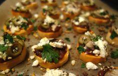 Mini sweet potato pizza bites I Finn's Foods