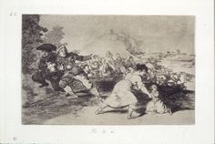 1797 Pretty Teacher Francisco Goya y Lucientes Witches Broomstick 7x5 Inch Print