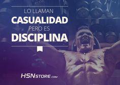 Lo llaman casualidad, pero es disciplina. #fitness #motivation #motivacion #gym…