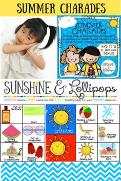 Looking for a fun end or year game or a game for summer school...this can be used for morning meeting, summer school or just for fun! Click and see for yourself!!