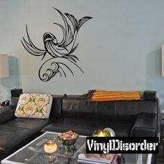 Graceful Zodiac Wall Decal - Vinyl Decal - Car Decal - DC 8026