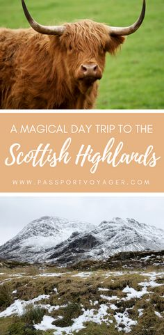 Looking for the perfect day trip from Edinburgh? If you want to see filming locations from Outlander and Harry Potter, witness the beauty of the mountains of Glencoe, and hunt for the Loch Ness Monster, read on about my experience touring the Scottish Highlands with Rabbie's Tours! #edinburgh #scotland #europe #travel #scottishhighlands