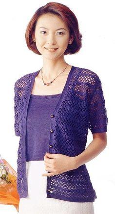 Crochet blouse   Entries in category Blouses Crochet   Blog kassir-lera: LiveInternet - Russian Service Online Diaries