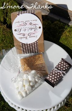 Another S'more Favor (I think I could make these!)