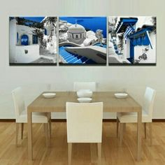 Seaside View 3 Piece Canvas Wall Decor     **WORLDWIDE SHIPPING AVAILABLE**    Item Type: Canvas Printing     Style: Classical     Material: Canvas     Subject: Still Life     Type: Canvas Printing     Shape: Square     Frame: With Frame     Frame Sizes: 20m x 20cm, 30cm x 30cm,  40cm x 40cm,  50cm x 50cm,  60cm x 60cm | Shop this product here: http://spreesy.com/belladonnahomedecor/117 | Shop all of our products at http://spreesy.com/belladonnahomedecor    | Pinterest selling powered by…