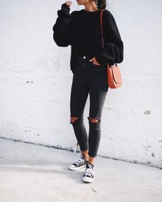 25 Proofs that Anything Goes with Black Jeans Outfits