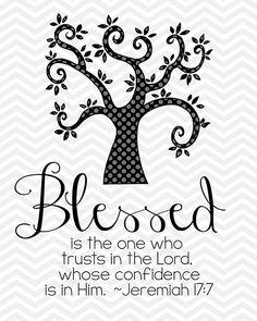 Jeremiah 17:7
