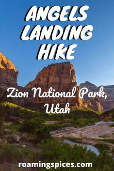 Angels Landing hike is one of the most exhilarating and dangerous of them all. Planning on hiking Angels Landing trail? Utah Hiking Trails, Utah Hikes, Hiking Tips, Capitol Reef National Park, Us National Parks, Zion National Park, Travel Usa, Travel Tips, Travel Destinations