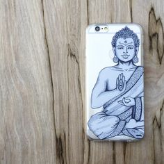 Clear TPU Case Cover - Buddha Hamsa – Milkyway