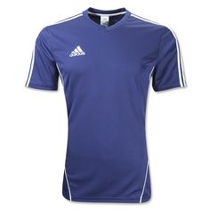 adidas Estro 12 Soccer Jersey (Navy White) Soccer Shoes bcfd63a9b