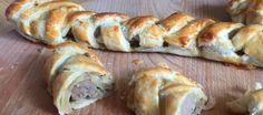 Gevlochten worstenbrood; hartig en feestelijk