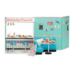 American Girl - Beforever Maryellen - Maryellen's Diner Set for Dolls